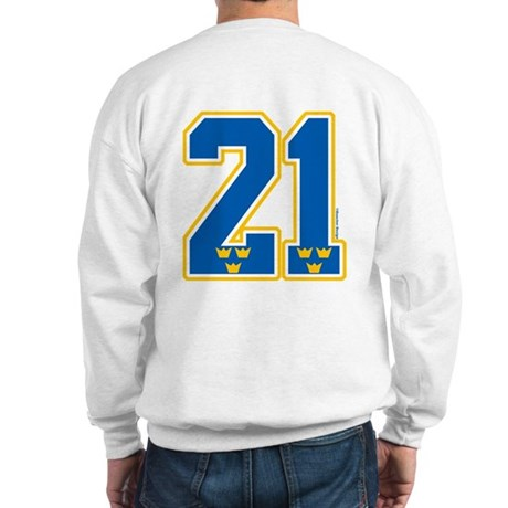 SE Sweden(Sverige) Hockey 21 Sweatshirt