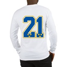 SE Sweden(Sverige) Hockey 21 Long Sleeve T-Shirt