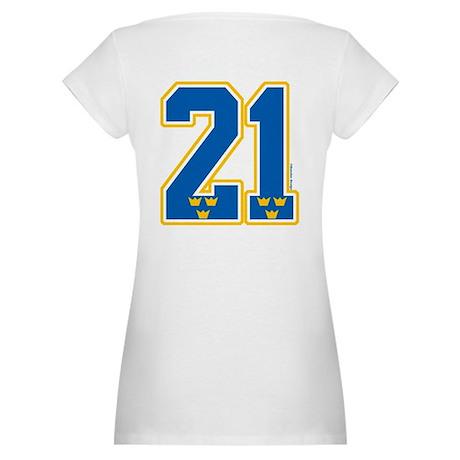 SE Sweden(Sverige) Hockey 21 Maternity T-Shirt