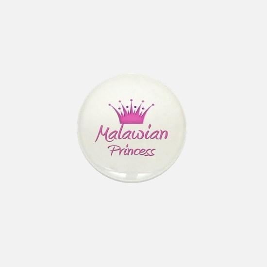 Malawian Princess Mini Button