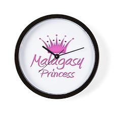 Malagasy Princess Wall Clock