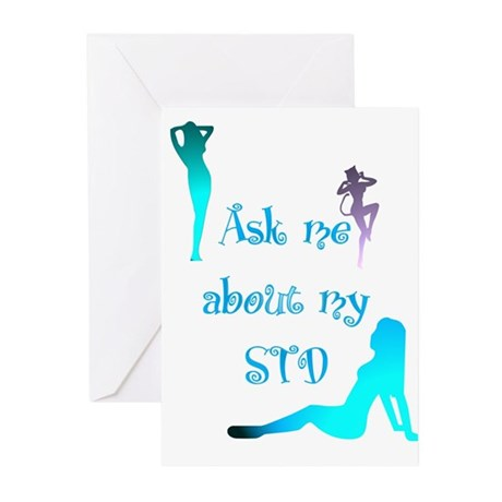 Ask me about my STD Greeting Cards (Pk of 10)