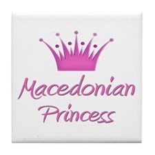 Macedonian Princess Tile Coaster
