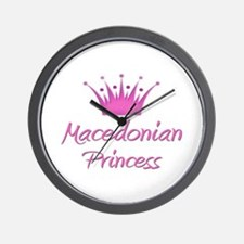 Macedonian Princess Wall Clock