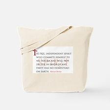 The Free Spirit Tote Bag