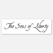 The Sons Of Liberty Bumper Bumper Bumper Sticker
