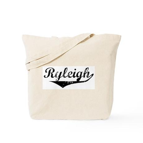 Ryleigh Vintage (Black) Tote Bag
