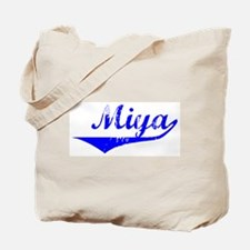 Miya Vintage (Blue) Tote Bag