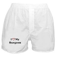 I Love My Surgeon Boxer Shorts
