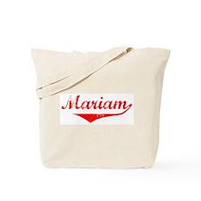 Mariam Vintage (Red) Tote Bag