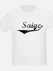 Saige Vintage (Black) T-Shirt