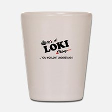 Cute Loki Shot Glass