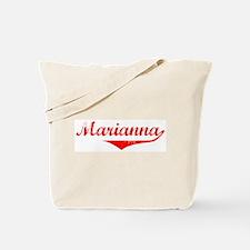 Marianna Vintage (Red) Tote Bag