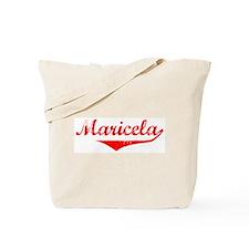 Maricela Vintage (Red) Tote Bag
