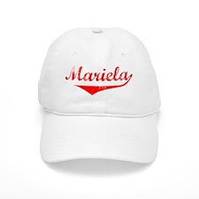 Mariela Vintage (Red) Baseball Cap