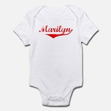 Marilyn Vintage (Red) Onesie
