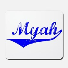 Myah Vintage (Blue) Mousepad