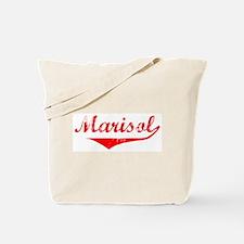 Marisol Vintage (Red) Tote Bag