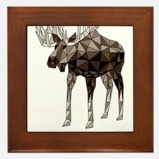 Geometric Moose Framed Tile