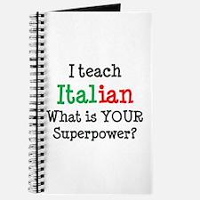 teach italian Journal