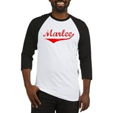 Marlee Vintage (Red) Baseball Jersey