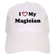 I Love My Magician Baseball Cap