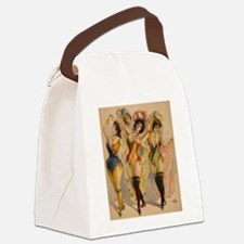 1899 Pinups Canvas Lunch Bag