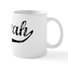 Saniyah Vintage (Black) Mug