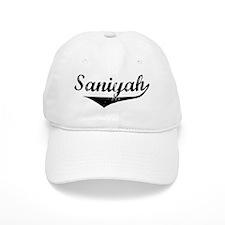 Saniyah Vintage (Black) Baseball Cap