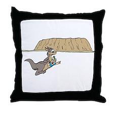 Fun Kangaroo Throw Pillow