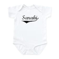 Sarahi Vintage (Black) Infant Bodysuit