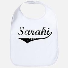 Sarahi Vintage (Black) Bib