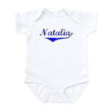 Natalia Vintage (Blue) Infant Bodysuit
