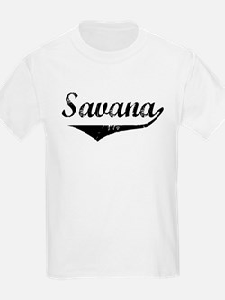 Savana Vintage (Black) T-Shirt