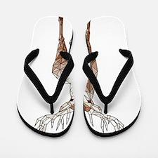 Geometric Deer Flip Flops