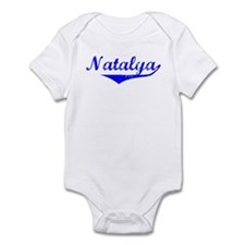 Natalya Vintage (Blue) Infant Bodysuit