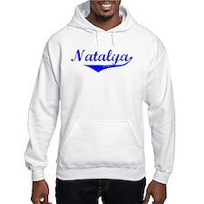 Natalya Vintage (Blue) Hoodie Sweatshirt