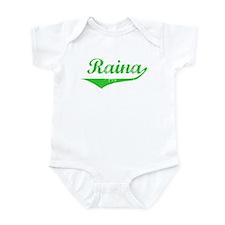 Raina Vintage (Green) Infant Bodysuit
