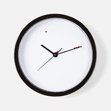 Cute Mekhi Wall Clock