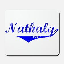 Nathaly Vintage (Blue) Mousepad