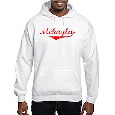 Mckayla Vintage (Red) Hoodie Sweatshirt