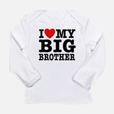 I Love My Big Brother Long Sleeve Infant T-Shirt