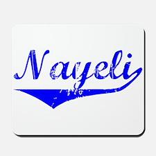 Nayeli Vintage (Blue) Mousepad