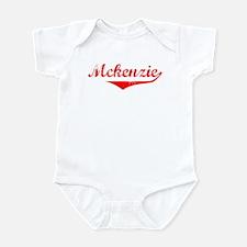 Mckenzie Vintage (Red) Infant Bodysuit