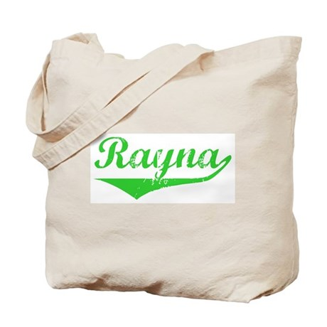 Rayna Vintage (Green) Tote Bag