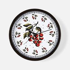 Cherries For Rene'e #1 - Wall Clock