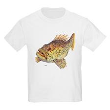 Coney Tropical Fish Kids T-Shirt