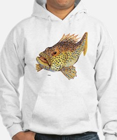 Coney Tropical Fish (Front) Hoodie