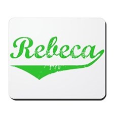 Rebeca Vintage (Green) Mousepad