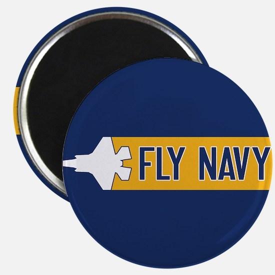 U.S. Navy: Fly Navy (F-35) Magnet